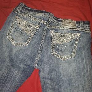 Miss me 33 crop jeans